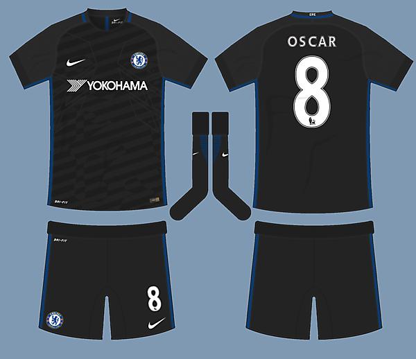 Chelsea 17-18 Nike Away Kit