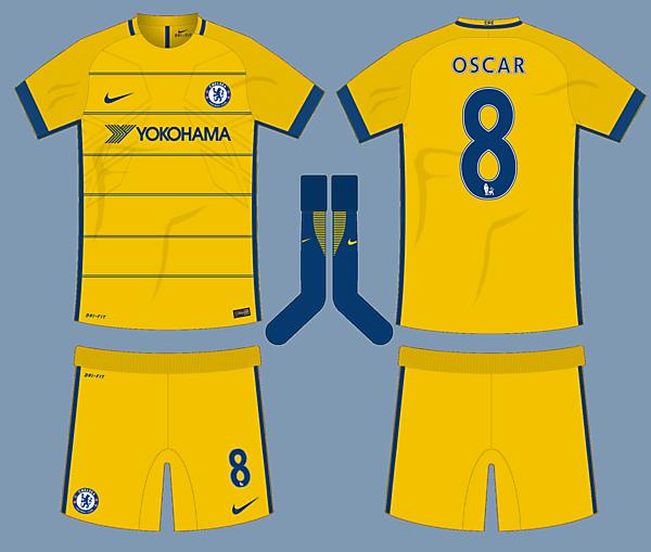 Chelsea 17-18 Nike Third Kit