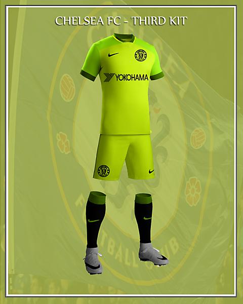 Chelsea FC 2017/18 Nike Third Kit