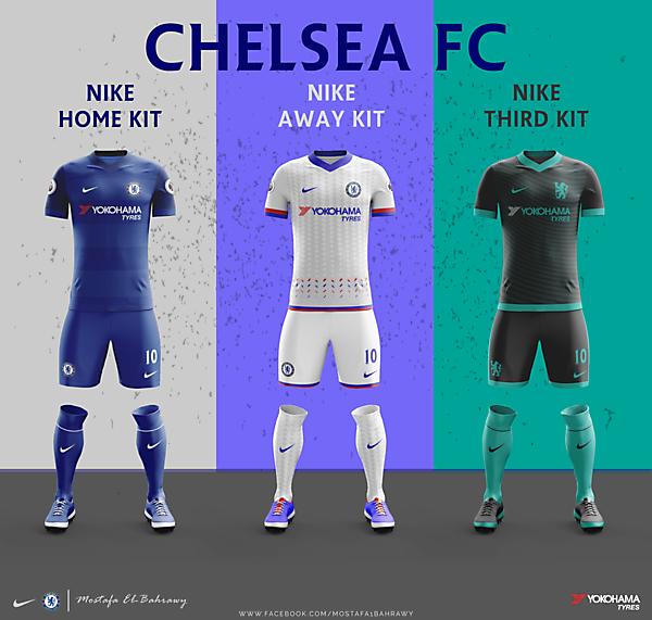 Chelsea Kit 2017-2018