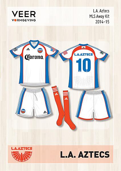 L.A. Aztecs Away kit 2014-2015