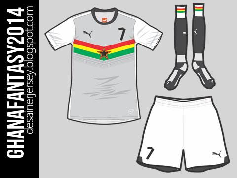Ghana 2014 Home Kit