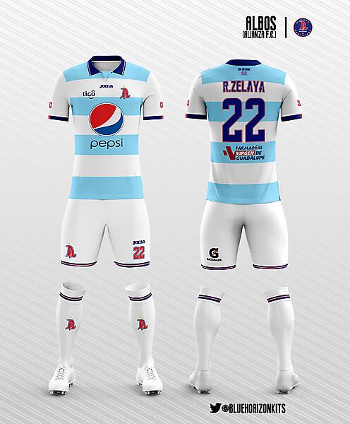 Alianza F.C.(El Salvador) Home Kit
