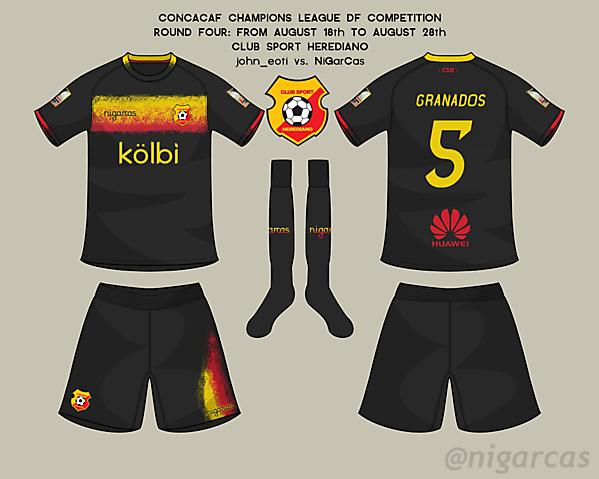 CS Herediano - Away kit