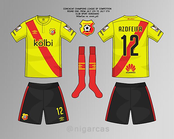 CS Herediano - Home kit