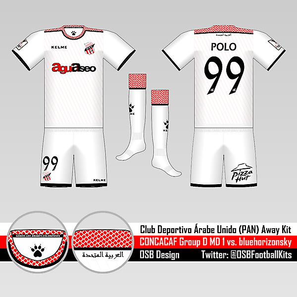 D.A.U. Away Kit - Group D Round 1