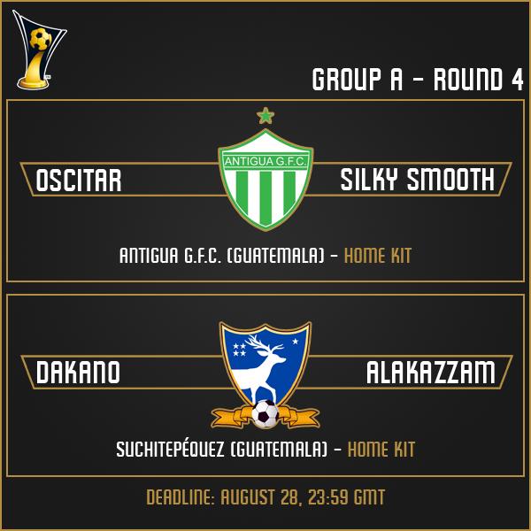 Group A - Week 4 Matches