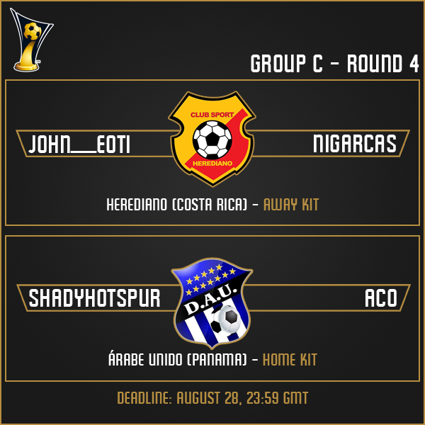Group C - Week 4 Matches