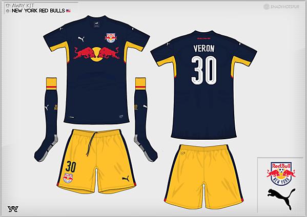 [Group C] New York Red Bulls | away kit
