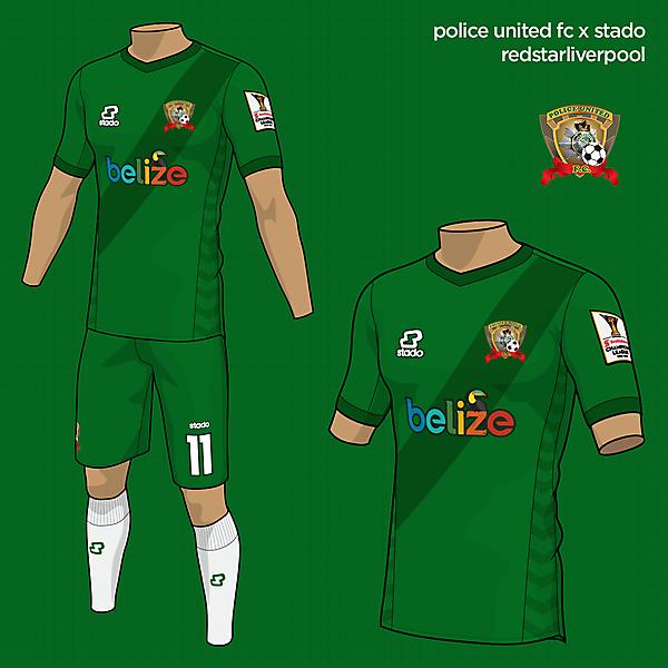 Police United FC   Home Kit