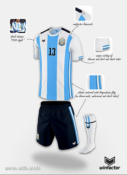 Argentina home kit - final design