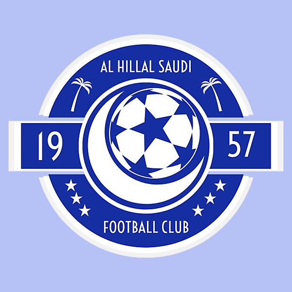 Al Hillal Saudi Crest Redesign