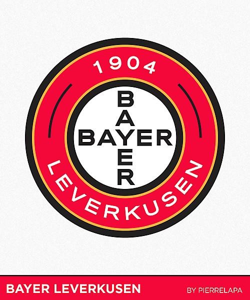 Bayer Leverkusen - bundesliga - redesign