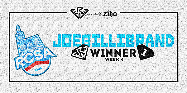 CRCW - WEEK 4 - WINNER