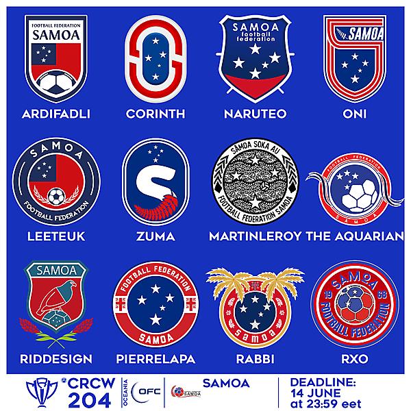 CRCW 204 VOTING - SAMOA