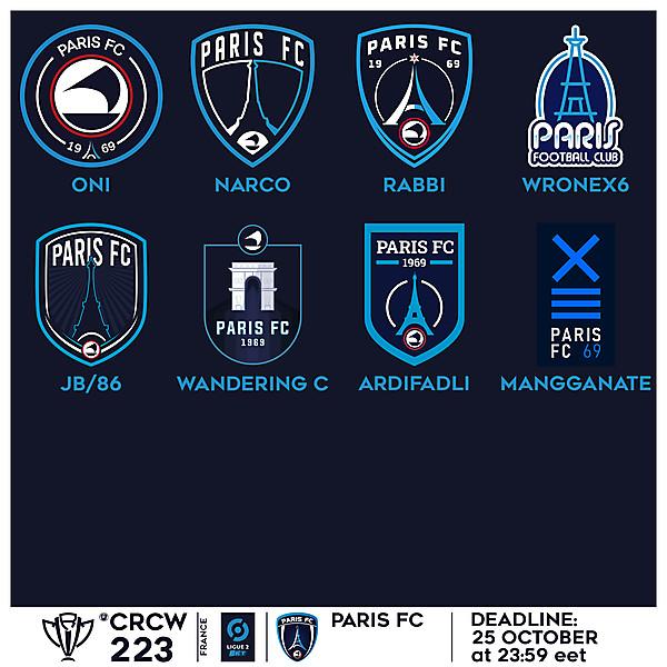 CRCW 223 VOTING - PARIS FC