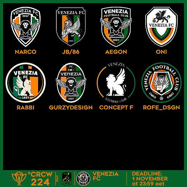 CRCW 224 VOTING - VENEZIA FC