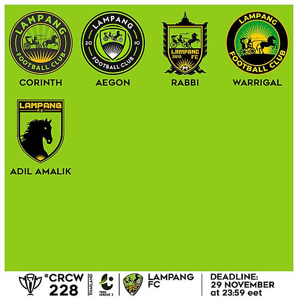 CRCW 228 VOTING - LAMPANG FC