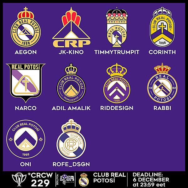 CRCW 229 VOTING - CLUB REAL POTOSÍ