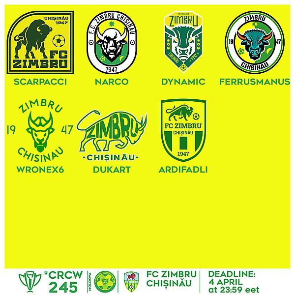 CRCW 245 VOTING - FC ZIMBRU CHIȘINĂU