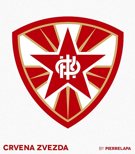 FK Crvena Zvezda - Red Star Belgrade - redesign -