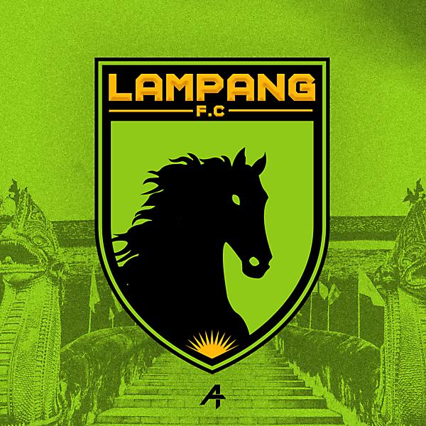 Lampang F.C logo redesign