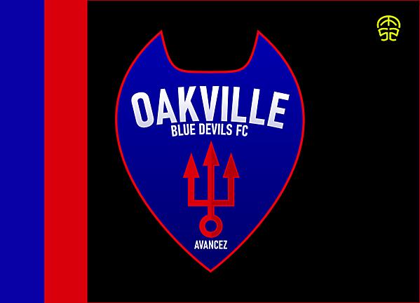 OAKVILLE BLUE DEVILS FC CREST