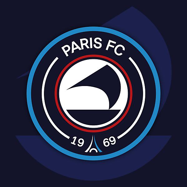 Paris FC | Crest Redesign Concept