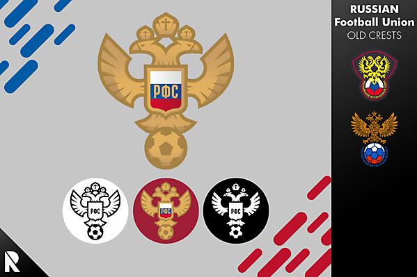 RUSSIA - Russian Football Union logo