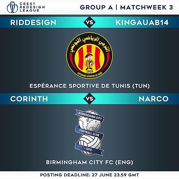 Group A - Matchweek 3
