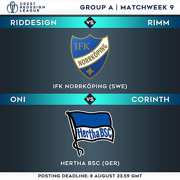 Group A - Matchweek 9