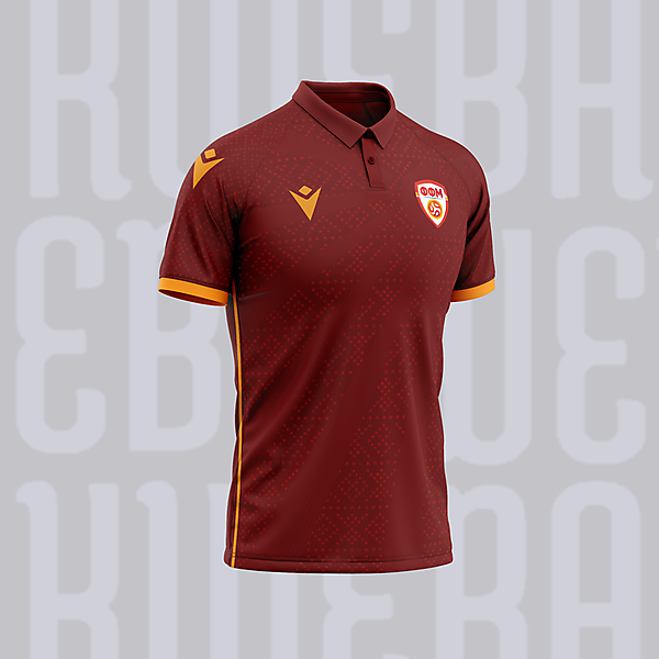North Macedonia - Home kit