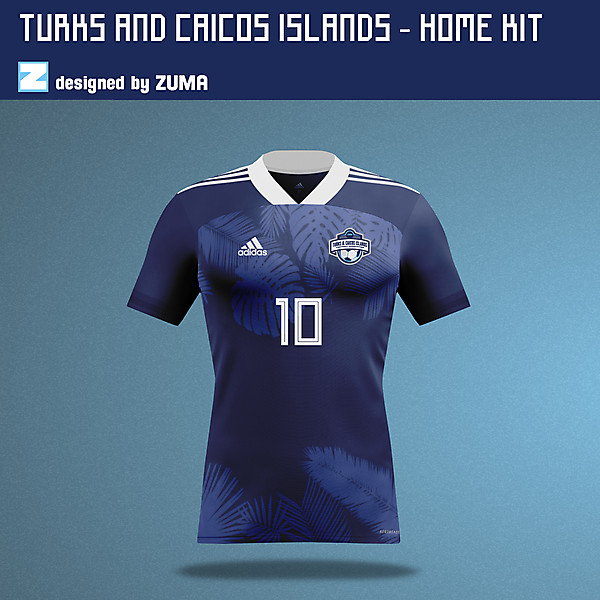 Turks & Caicos Islands  | Adidas | Home Kit