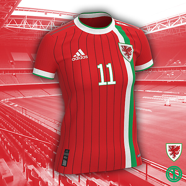 Wales WNT | Home Kit Concept