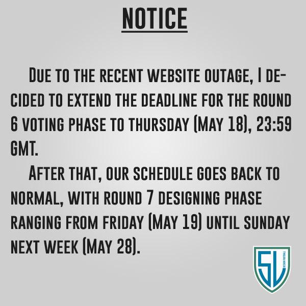 Notice - Website outage
