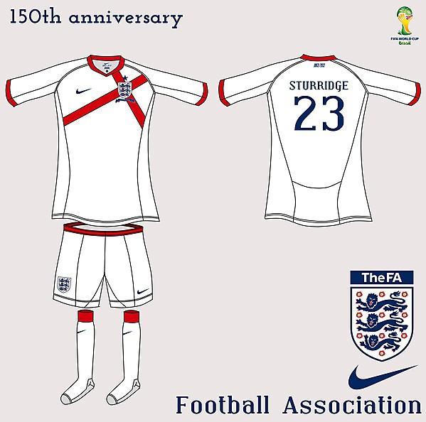 England Nike Fantasy Home