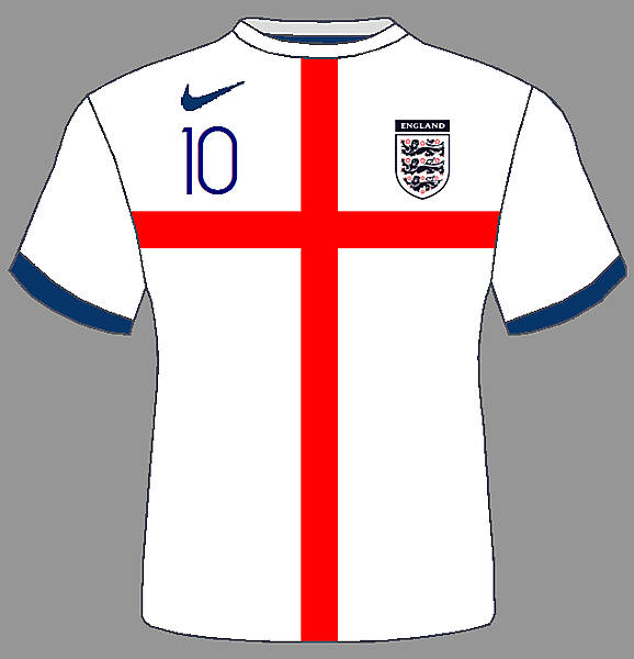 England - Home Kit