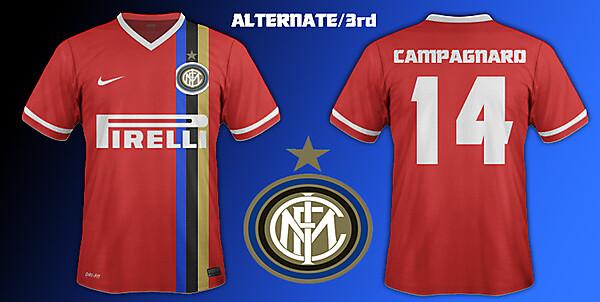 Inter Milan 3rd/alternate kit 14/15