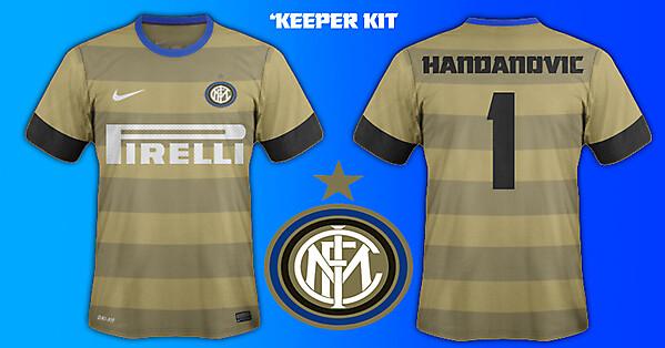 Inter Milan GK kit 14/15