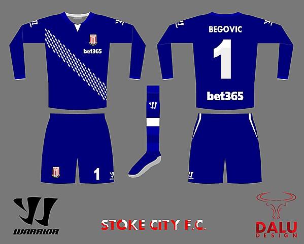 Stoke City GK kit