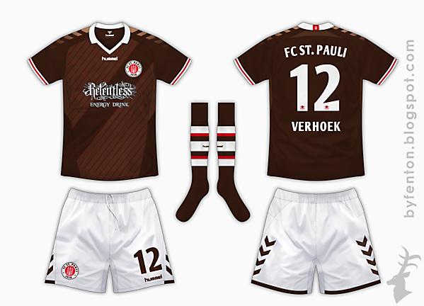 St Pauli Home Kit - Hummel