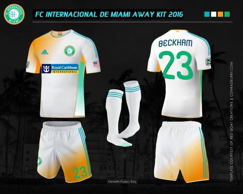 Inter Miami Away Kit
