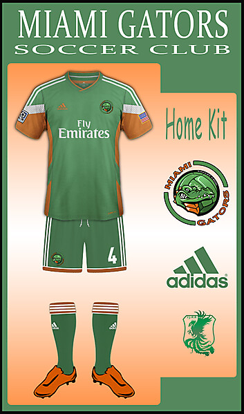 MIAMI Gators Home Kit