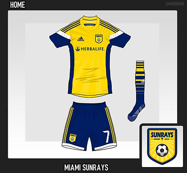 Miami Sunrays FC Home