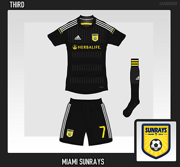 Miami Sunrays FC Third