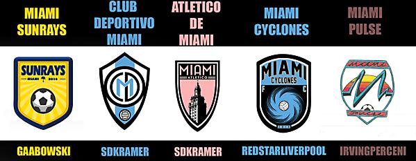 Miami Team - Best Crest Vote
