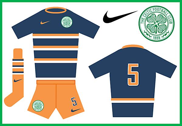 Celtic - Nike Away Kit (Rangers)