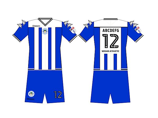 Wigan 2017 Home kit