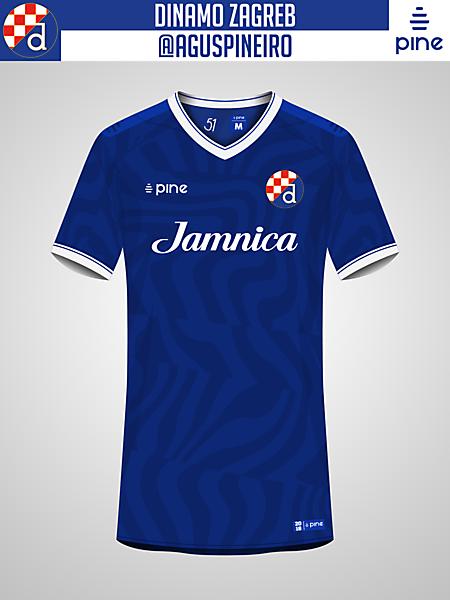 Dinamo Zagreb / Home Kit by Pine