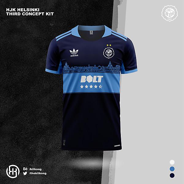 HJK Helsinki   Concept 3rd kit